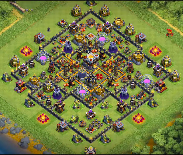 best town hall 10 farming base