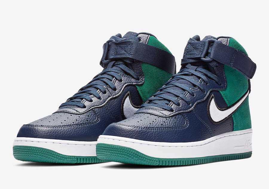 Color In Seahawks Force 1 Schemes Nike Air Dropping High KickzyThe v7Y6ybgIf