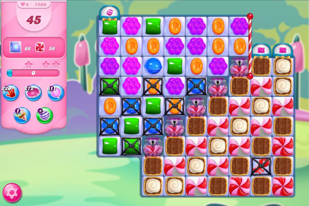 Candy Crush Saga level 7508
