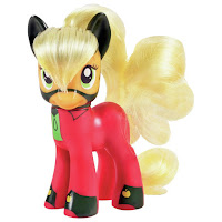 MLP Power Ponies Applejack as Mistress Mare-Velous Brushable