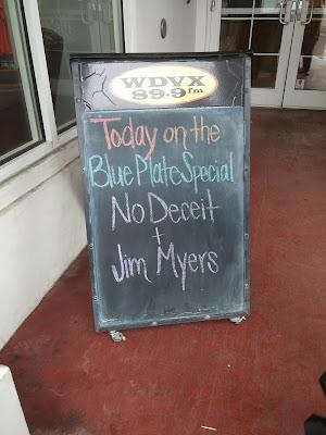 WDVX 89.9 FM Blue Plate Special - No Deceit & Jim Meyers