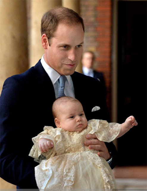 The Official Christening Photos of  Prince George