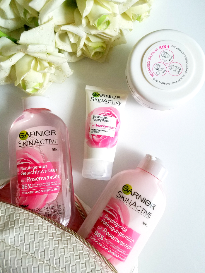 Review: Garnier - SkinActive Rosenwasser Hautpflege Rose Floral Water Skincare