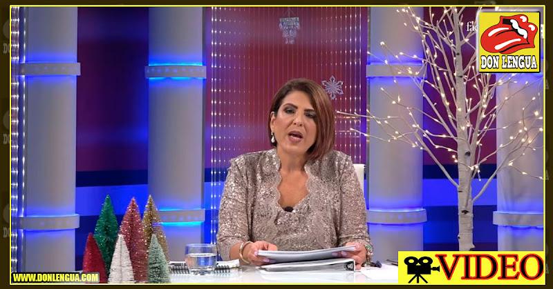 Patricia Poleo revela que su madre recibe una pensión de 6.000 dólares mensuales