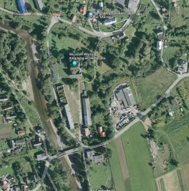Mapa google- Siedlęcin