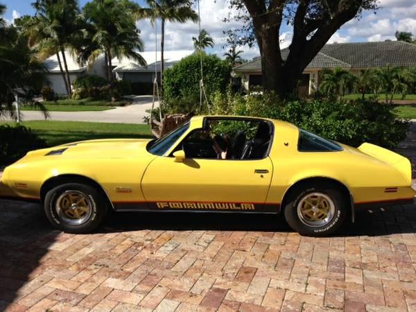 1978 Pontiac Firebird Formula Very Rare Factory T Tops