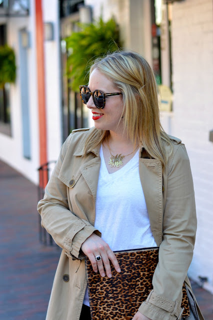 white-tee-trench-coat-outfit
