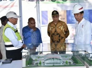 Presiden Sangat Yakin Bahwa Bandara Nabire Akan Jadi Besar dan Penghubung Antar Kabupaten