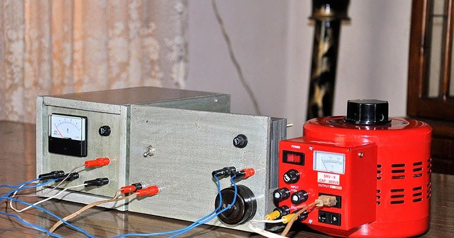 Image Adjustable Dc Power Supply Schematic Download