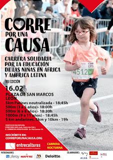 Carrera Entreculturas Leon 2019