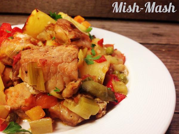 Гювеч със свинско месо