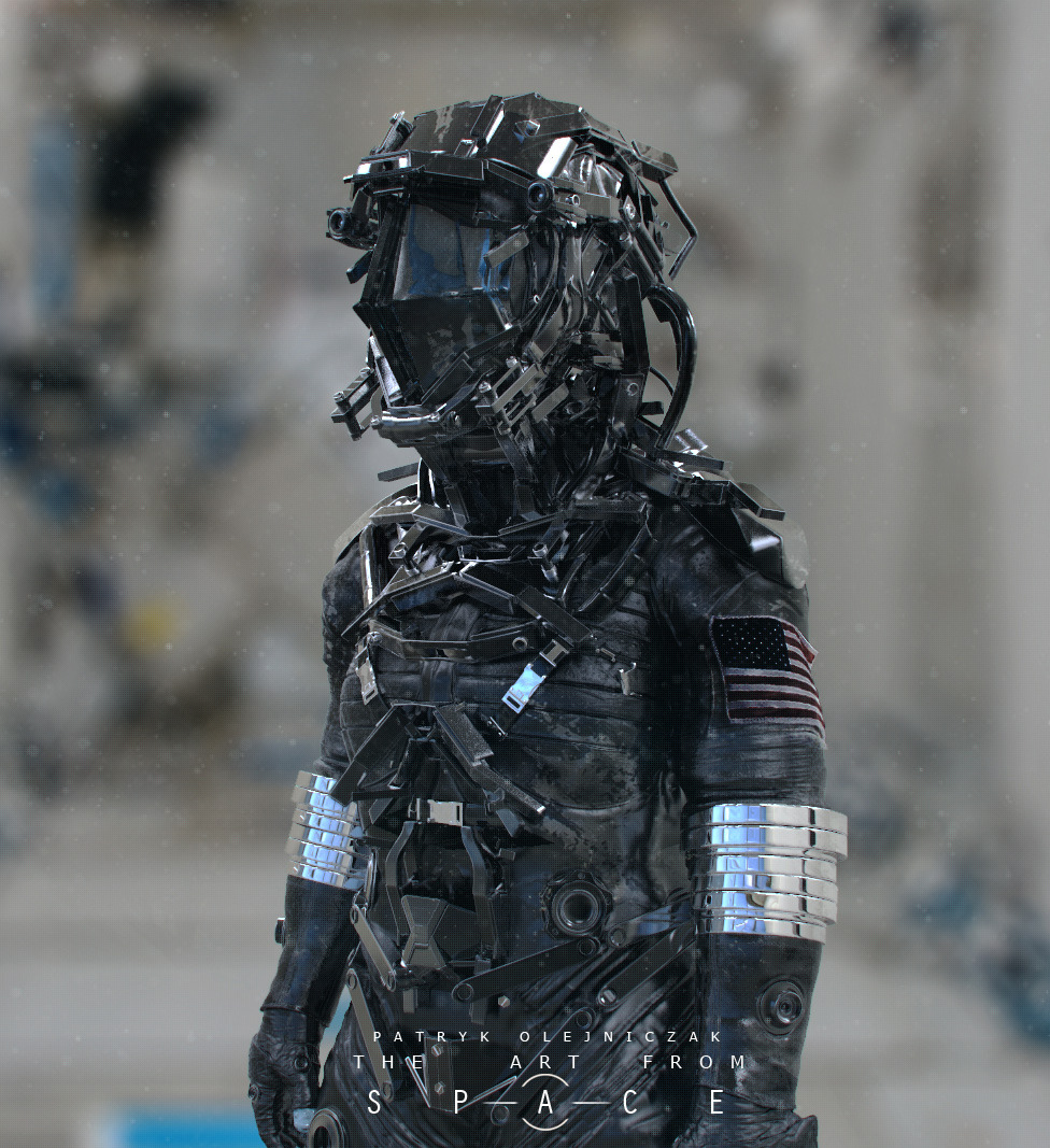 felix ip。蟻速畫行: Space Suit by Patryk