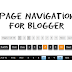 How to Add Numbered Page Navigation Widget for Blogger Blogs
