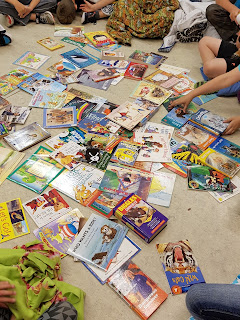 A Book Buffet Theme Day to celebrate the LOVE of reading!