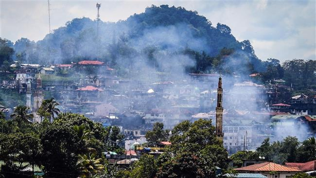 Philippine army captures Takfiri Daesh militants command center in Marawi