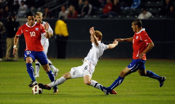 Estados Unidos y Chile en partido amistoso, 23 de enero de 2011