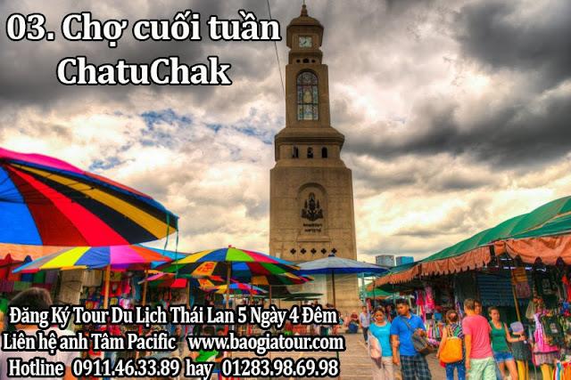 Chợ cuối tuần ChatuChak