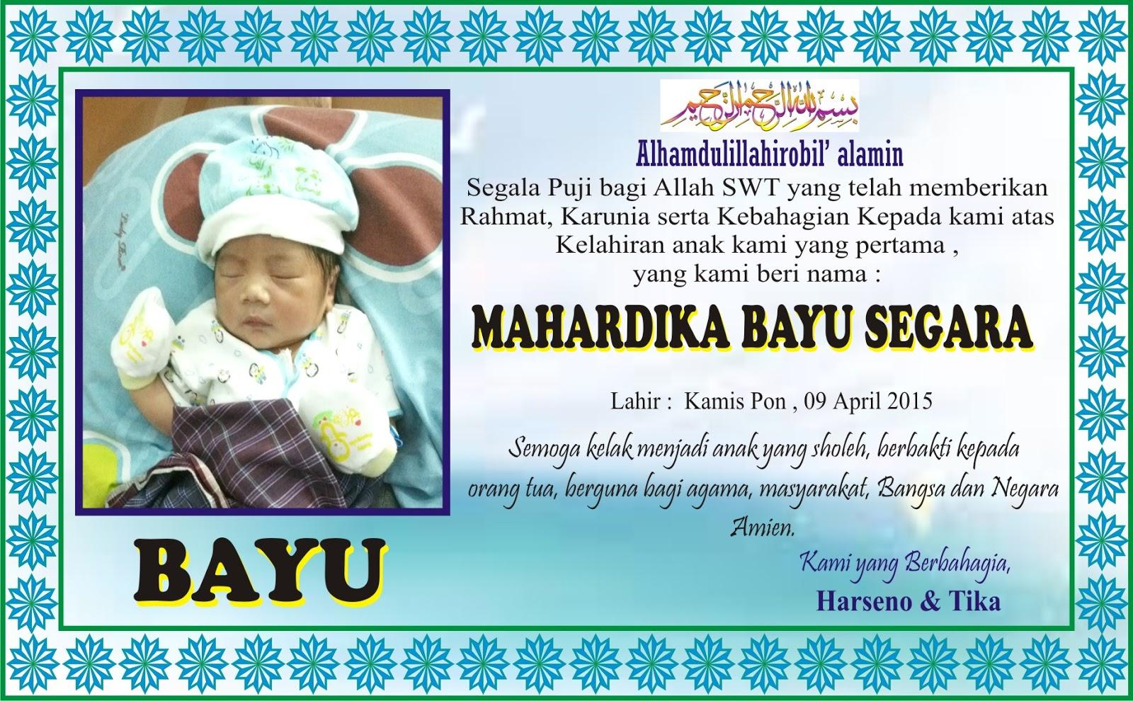 Desain Nama Bayi