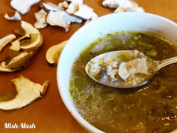 Супа от сушени манатарки