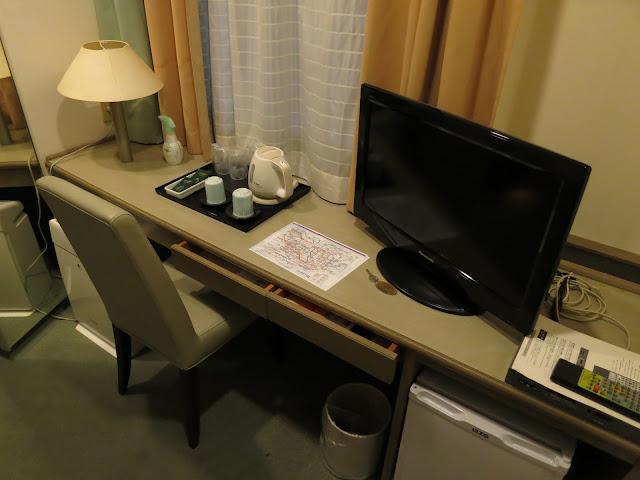 Princess Garden Hotel Room amenity. Tokyo Consult. TokyoConsult.