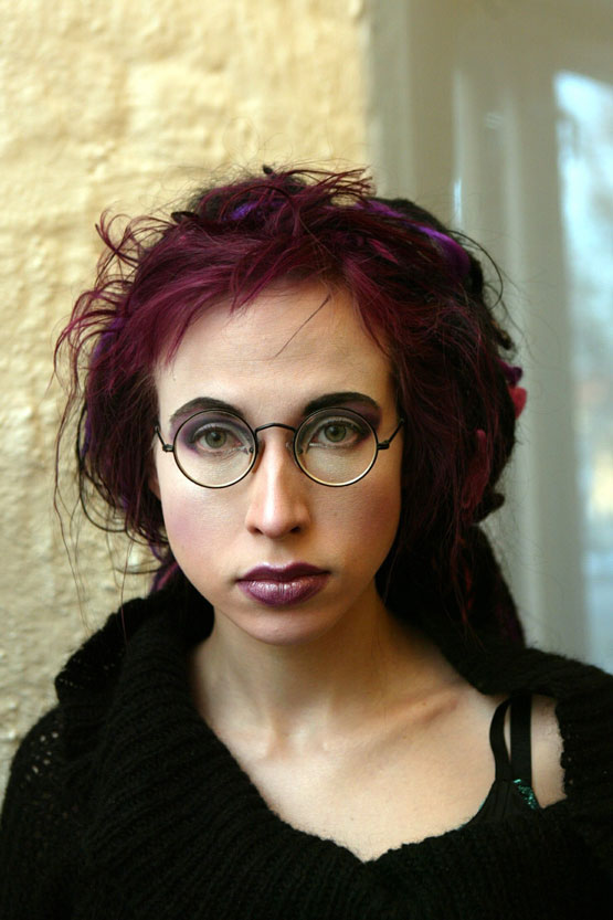 Author Sofi Oksanen, Jewish-looking Baltic Finn