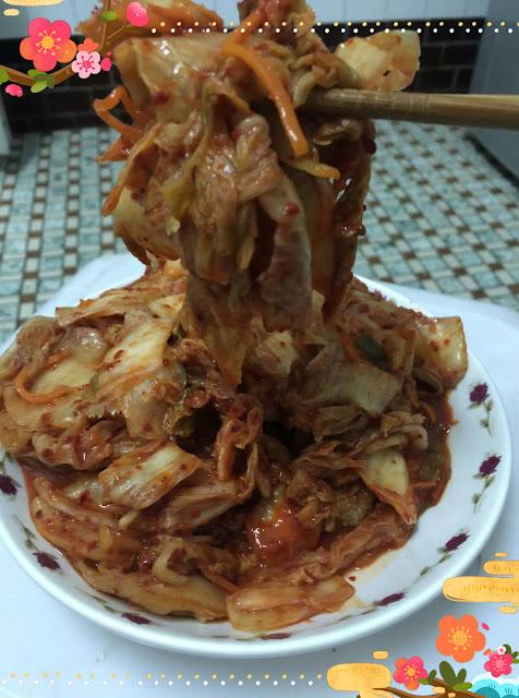 超級下飯der~韓式泡菜