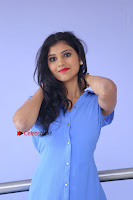 Telugu Actress Mounika UHD Stills in Blue Short Dress at Tik Tak Telugu Movie Audio Launch .COM 0077.JPG