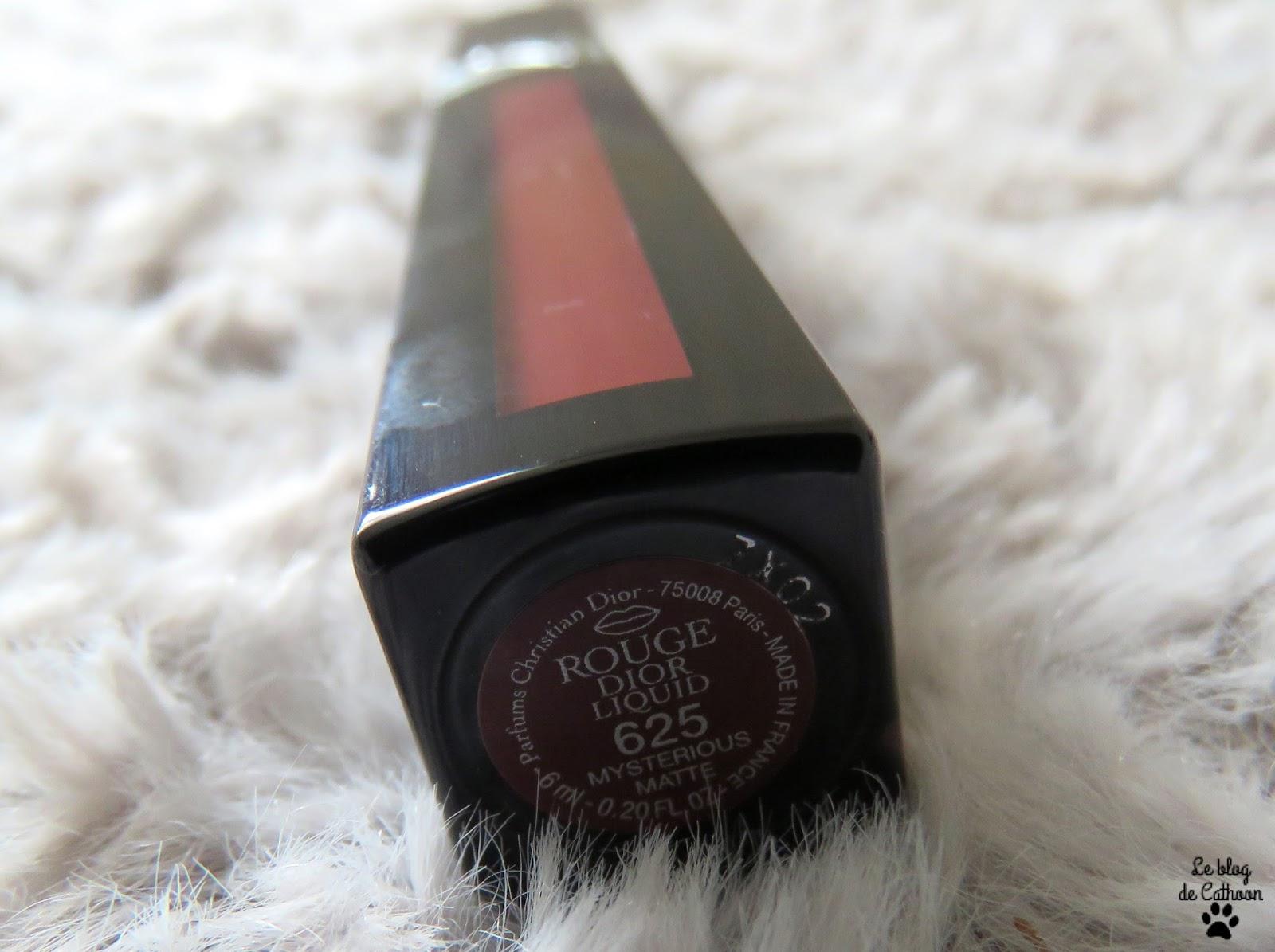 Rouge Dior Liquid - Matte - 625 Mysterious Matte - Dior