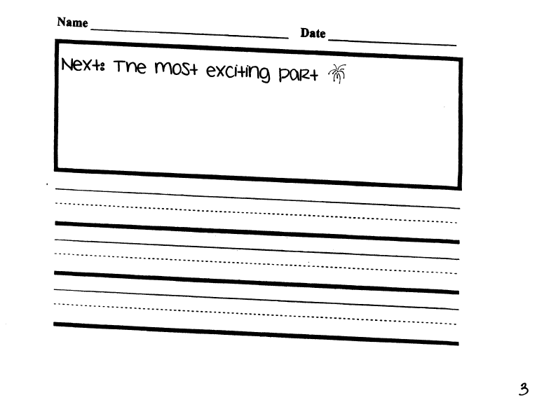 Ms.M's Blog: Writing Paper