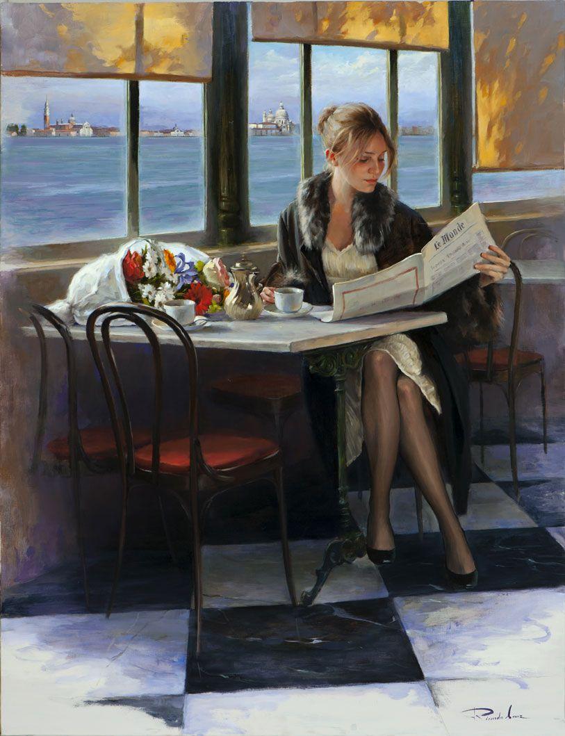Ricardo Sanz e suas mais belas pinturas