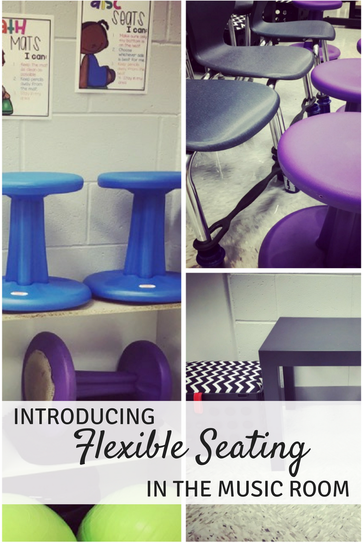 flexible seating in your music classroom {part two} | mrs