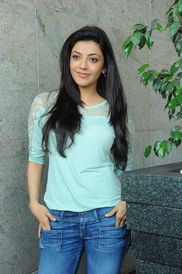 Telugu Movie Updates Kajal Agarwal Blue Jeans Photos Hot-1023
