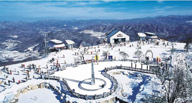 Korean Best 8 Ski Resort
