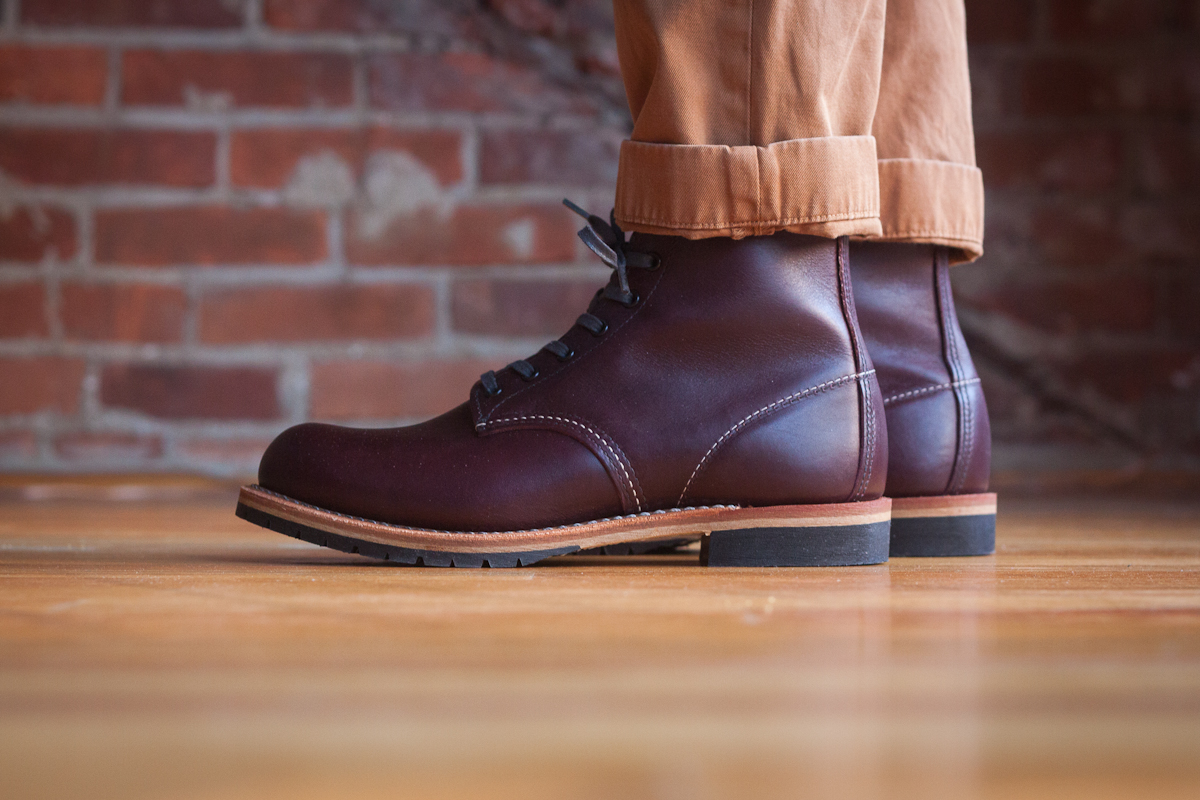 A Fine-Tooth Comb: First Impressions - Red Wing Beckman 9011 ...