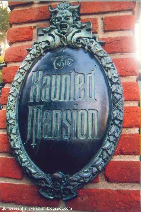 Disneyland's The Haunted Mansion