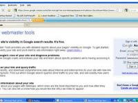 Cara Menggunakan Webmaster tool