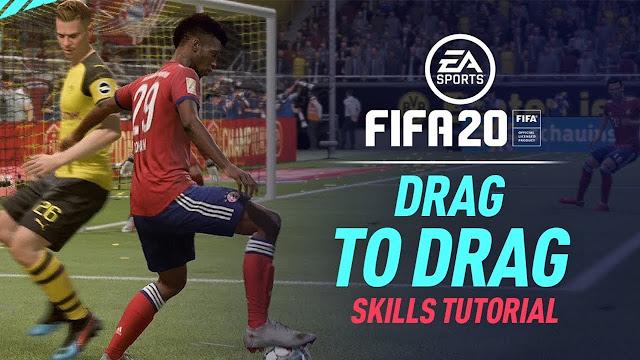 New Drag to Drag Skill FIFA 20 - DE JAY'S BLOG