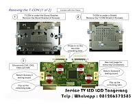 perbaikan tv led lcd sony samsung polytron panasonic lg sharp tangerang