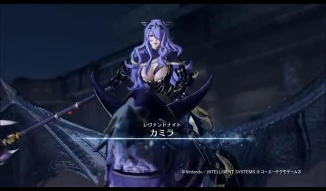 First screenshot from the 2nd and 3rd trailer of Fire Emblem Warriors
