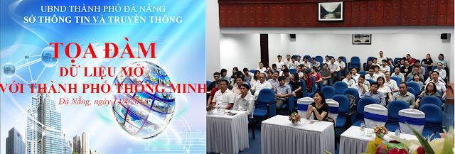 Tọa đàm: 'Dữ liệu mở với thành phố thông minh' tại Sở TTTT Đà Nẵng