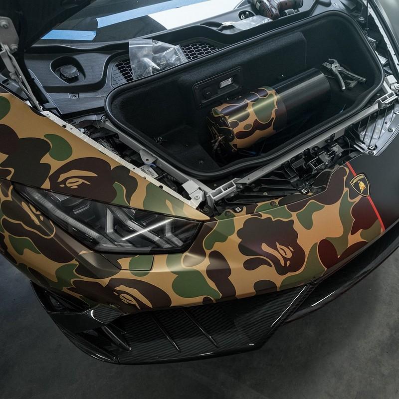Clear HURACAN Military Lamborghini