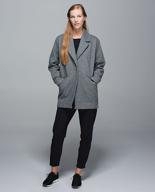 lululemon cozy car coat
