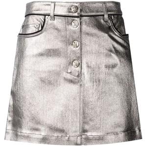 metallic coated denim skirt from Sonia Rykiel