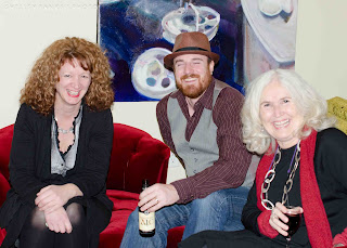 Tracy Hamon, Mitch Spray, Lorri Neilsen Glenn - photo by Shelley Banks