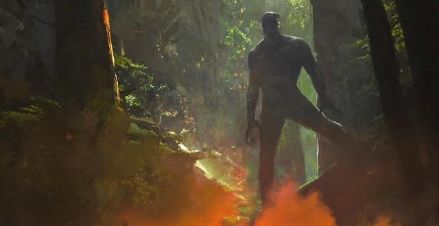Т'Чала в лесах Ваканды: