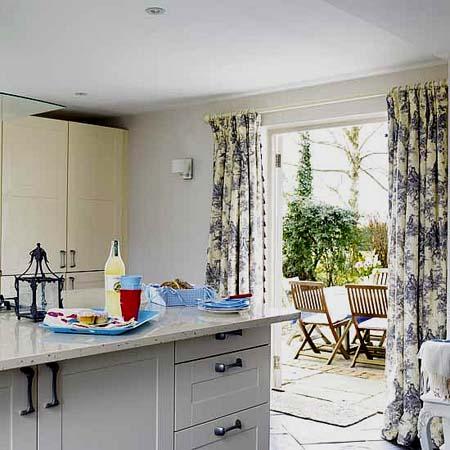 kitchen curtains design 1