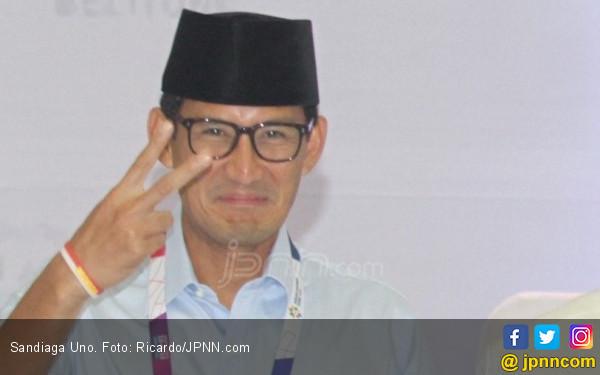 Respons Sandi untuk Kritik Andi Arief soal Prabowo Malas