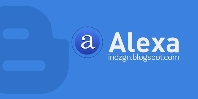 Cara Memasang Widget Alexa Terbaru 2016