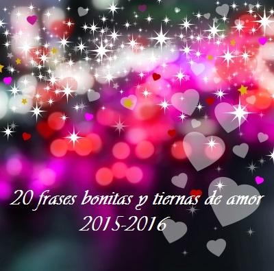 20 Frases Bonitas Y Tiernas De Amor Frases
