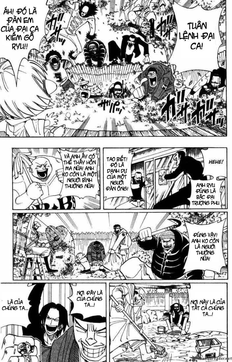Shaman King [Vua pháp thuật] chap 25 trang 9